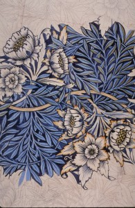 William Morris, Tulip and Willow design, 1873
